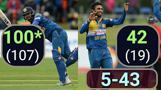 Dinesh Chandimal 100* | Dasun Shanaka 5-43 - Ireland vs Sri Lanka 1st ODI 2016 Highlights