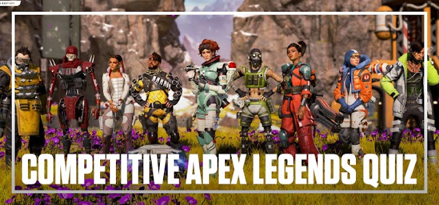 Competitive Apex Legends Quiz bequizzed
