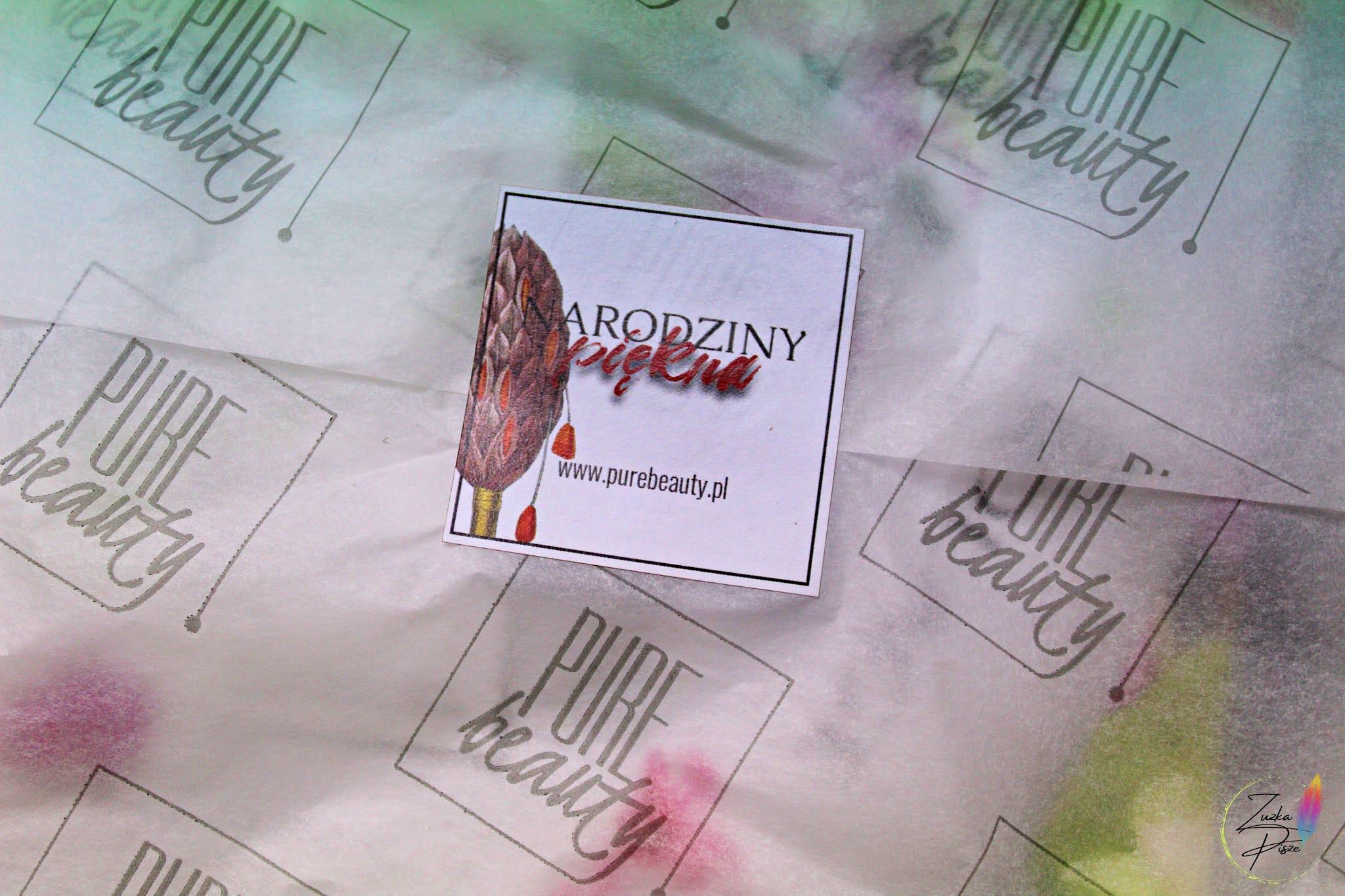 NOWOŚĆ! Box kosmetyczny PURE BEAUTY - unboxing pudełka z listopadowej edycji