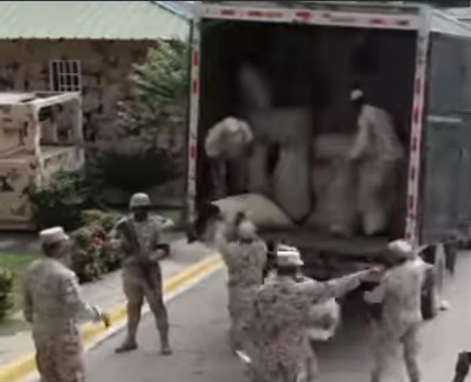 CESFRONT DETIENE EN ELIAS PIÑA CAMION TRAÍA MÁS DE 4 MILLONES DE UNIDADES DE CIGARRILLOS DESDE HAITÍ