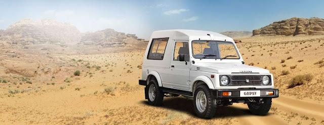 Maruti Suzuki Gypsy Desert