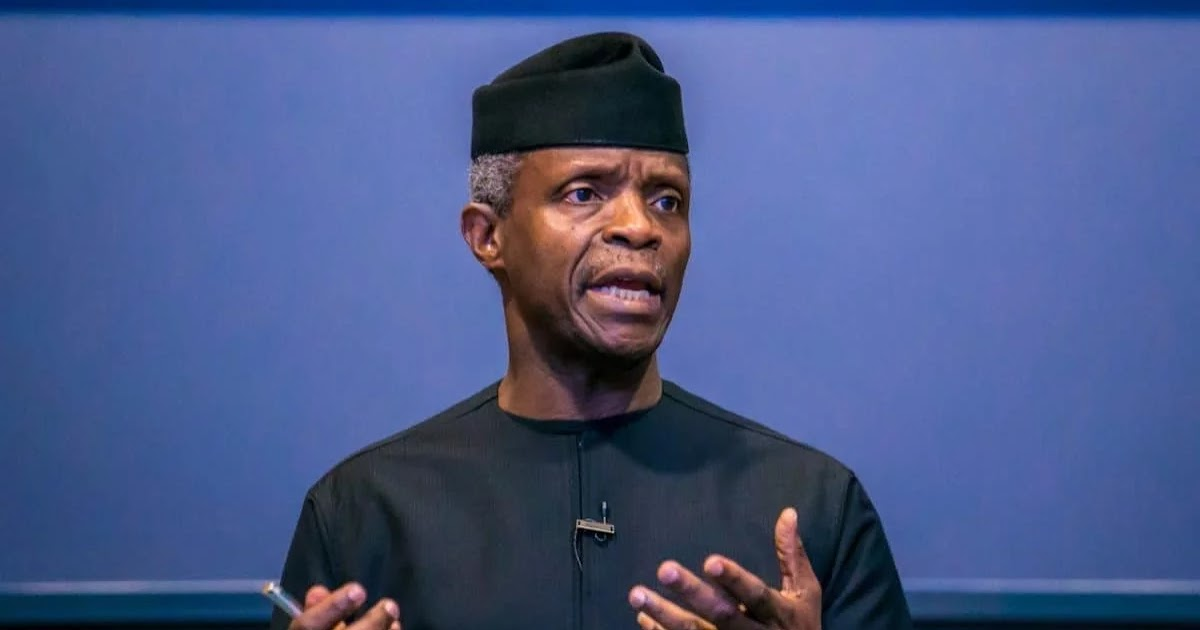 Vice President Osinbajo Denies Receiving N4 Billion From Sacked EFCC Chairman Magu