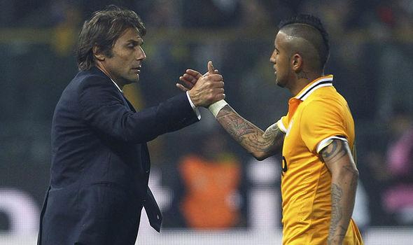 Antonio Conte Ingin Reuni Dengan Vidal Di Inter Milan
