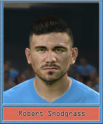 PES 2017 Robert Snodgrass Face by Dewatupai