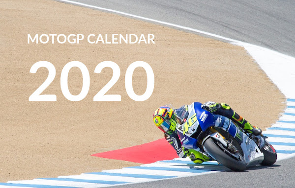 Daftar Jadwal Kalender Motogp 2020