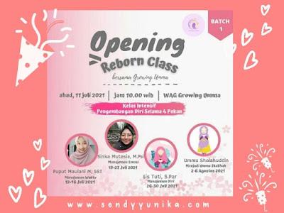 Opening Reborn Class