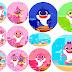 Baby Shark:  Toppers para Cupcakes para Imprimir Gratis.