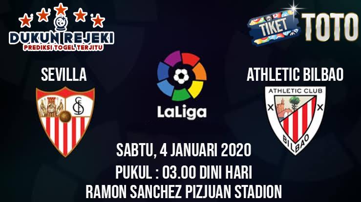 Prediksi Sevilla vs Athletic Bilbado 04 Januari 2020