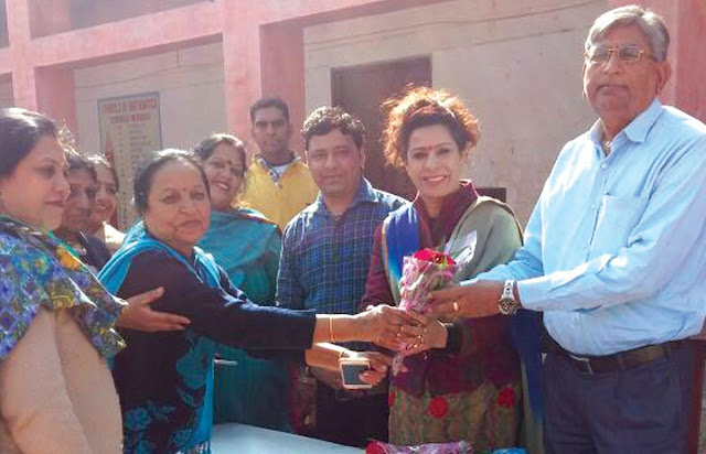 BJP state spokesman Renu Bhatia celebrated with orphaned children Lohadi and Makar Sankranti