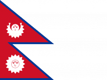 Why Flag Of Nepal Is Not Quadrilateral?