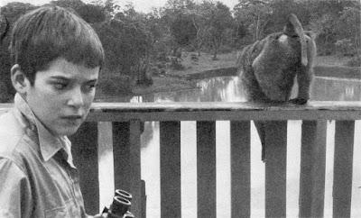Майкл Чаплин на отдыхе в Кении, 1958 г.