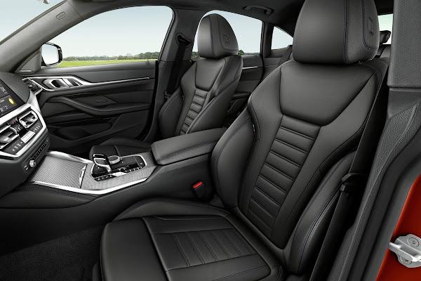 BMW apresenta o novo Série 4 Grand Coupé 2022  - interior