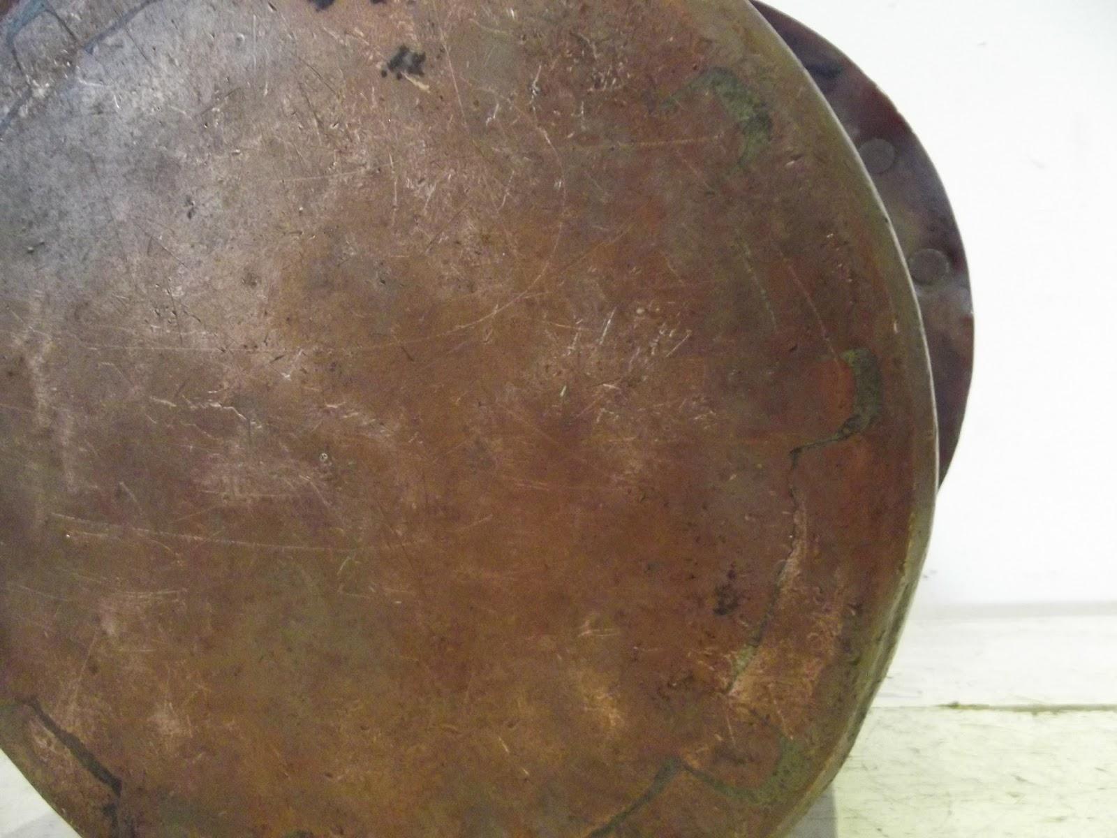 antik eimer kupfer geh mmert schwanz 39 schwalben schwei en bronze 19 ebay. Black Bedroom Furniture Sets. Home Design Ideas