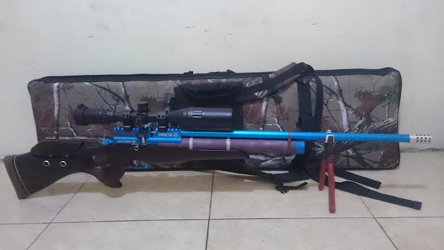 Senapan angin pcp, senapan angin marauder, senapan angin
