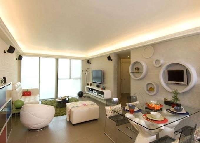 طرق إبداعية لتصميم غرفة المعيشة المستطيلة الشكل