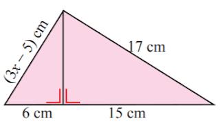 Nilai x yang memenuhi gambar di samping www.jawabanbukupaket.com