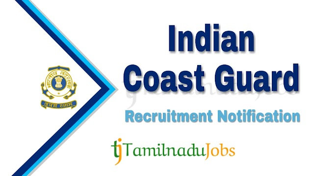 Indian Coast Guard Recruitment notification of 2021 - for Navik (GD & DB) - 358 post