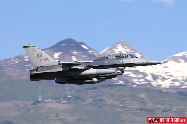 USAF F16 NATO policing Bulgaria