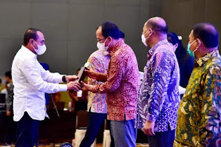 Humbahas Kabupaten Terbaik Ke-III Tahun 2021 Tingkat Kabupaten/Kota Se Sumatera Utara