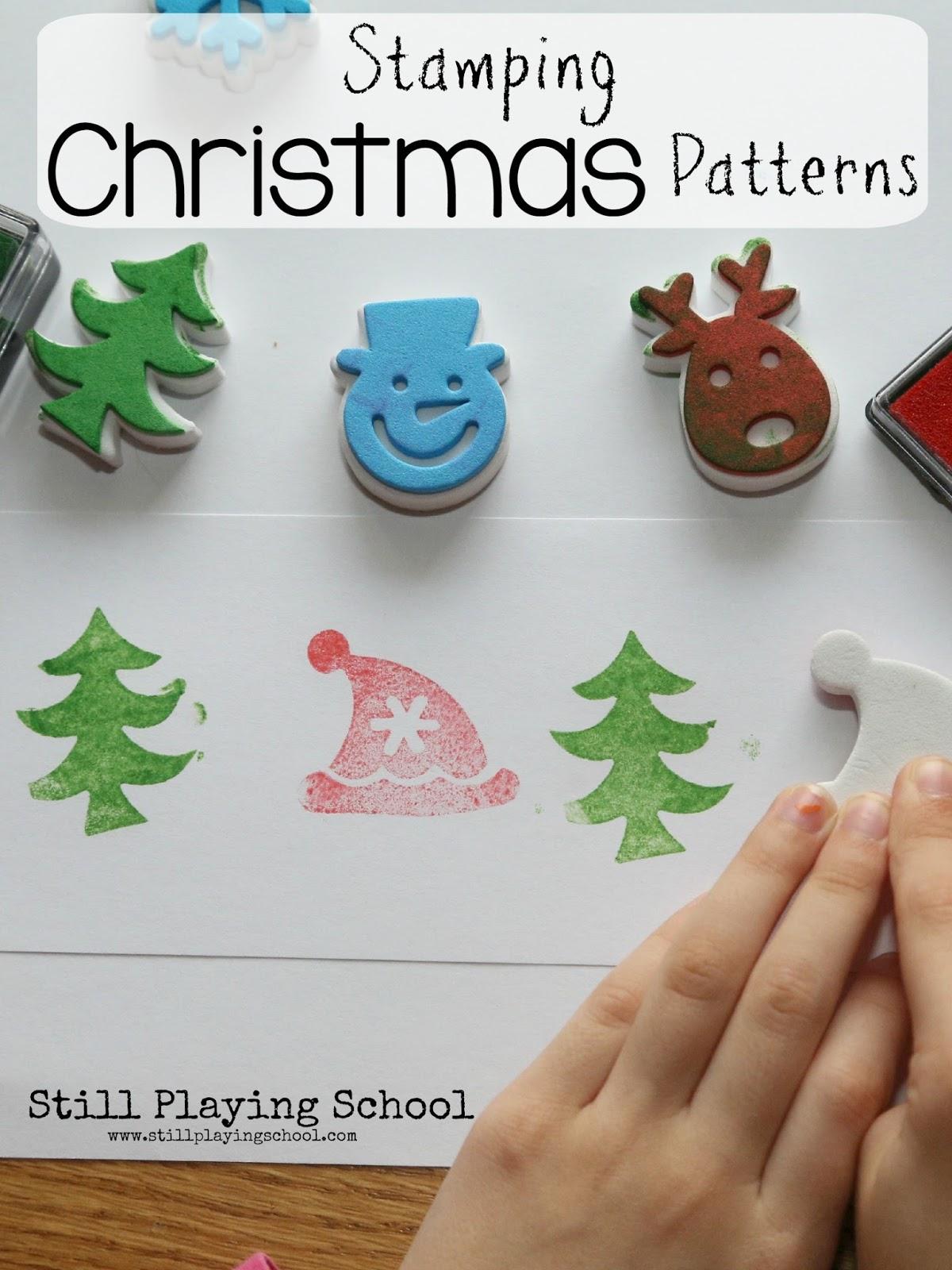 Stamping Christmas Patterns