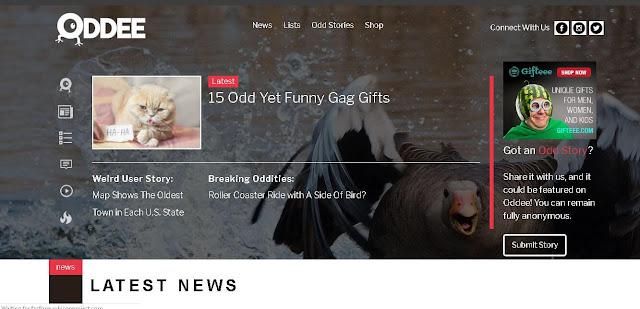 Oddee - fun websites