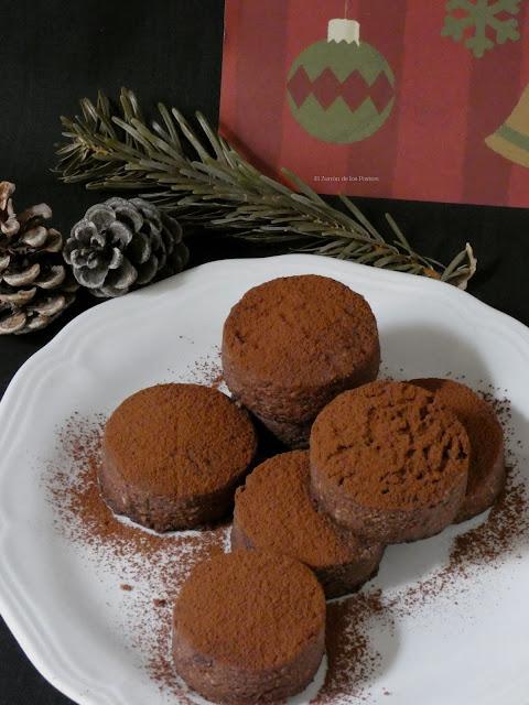 Polvorones Cacao Almendra Con Aceite