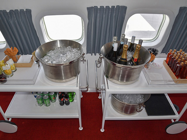 TWA Hotel JFK Bar Cart