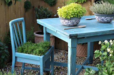 โต๊ะนั่งเล่นในสวน 5