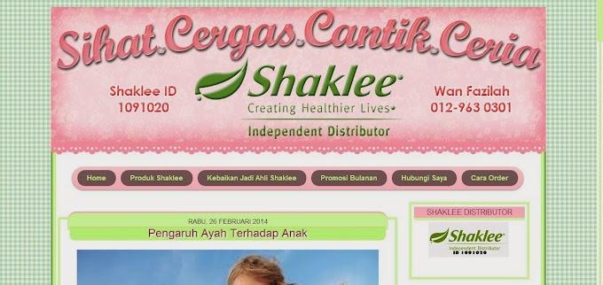 Tempahan Design Blog: Blog Sihat.Cergas.Cantik.Ceria