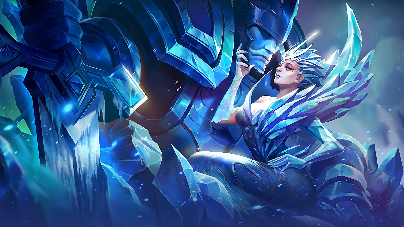 Wallpaper Aurora Queen of the North Skin Mobile Legends HD for PC