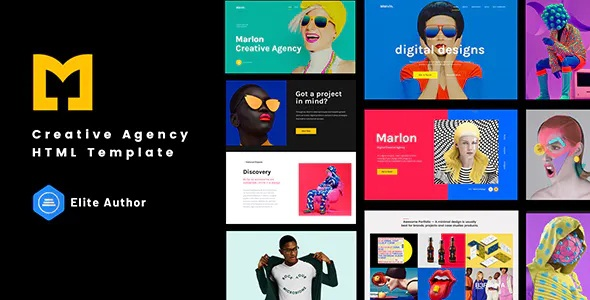 Best Creative Agency Portfolio HTML Template