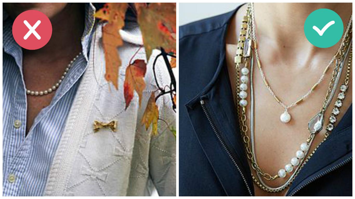 comment porter un collier de perles