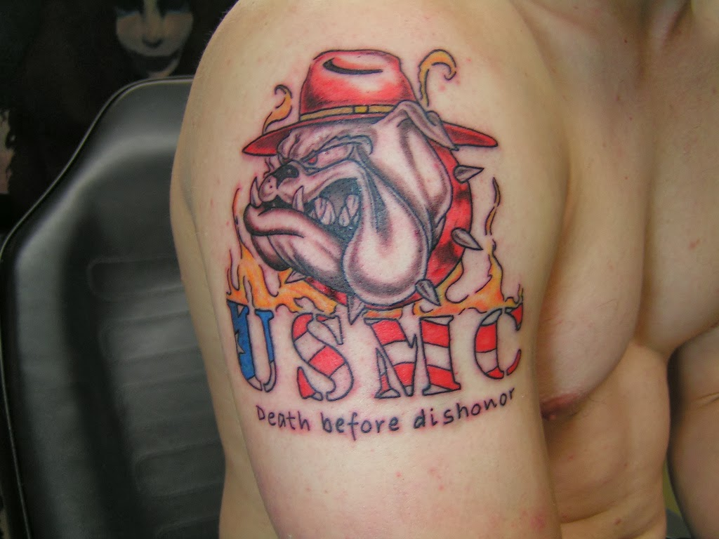 Marine Corps Tattoos Ideas: Usmc Tattoos