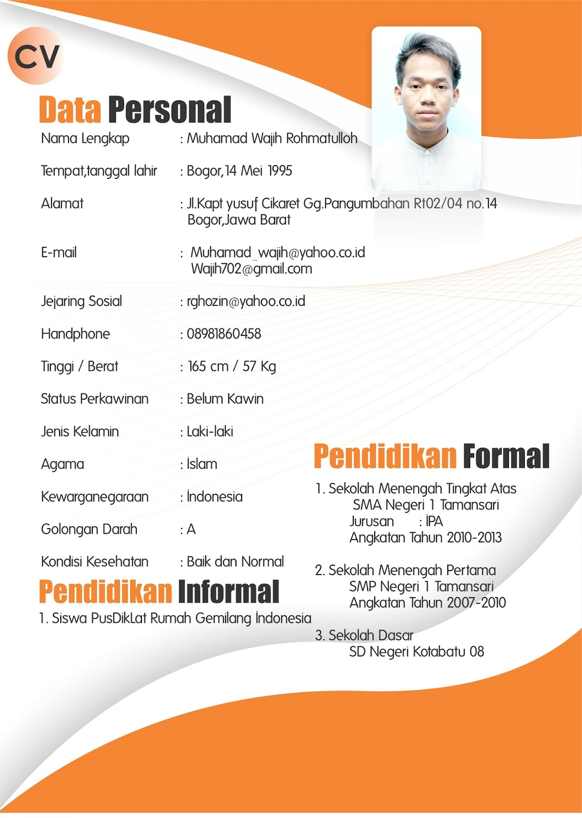 make a resume for first job