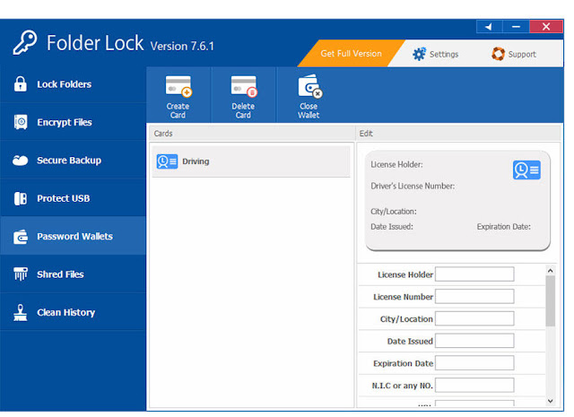 Folder Lock (Software Menyembunyikan Folder dengan Password)