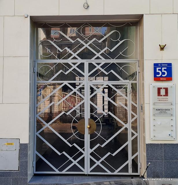 artdeco Warszawa Warsaw kamienica Kamienice architektura architecture Sigalin Gelbard getto Śródmieście modernizm modernism