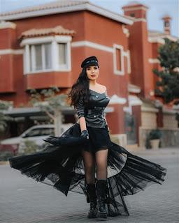 عبير صبري تستعرض خسارة وزنها بجلسة تصوير جديدة