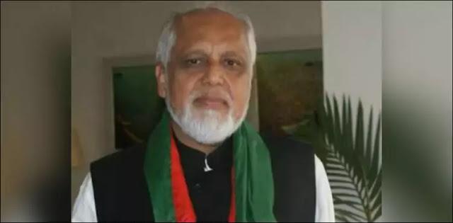 Pakistan Tehreek-e-Insaf member Najib Haroon has resigned