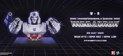 Transformers Megatron Vinyl Bust by Quiccs x Mighty Jaxx x Hasbro