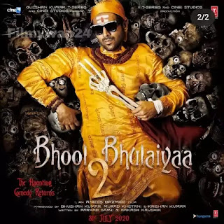 Bhool Bhulaiyaa 2 Full Movie Download Filmyzilla HDCamrip 700mb