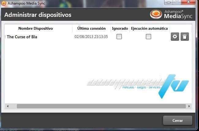 Ashampoo Media Sync Versión 1.0.2 Español