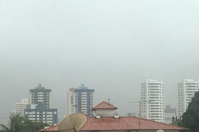 Inmet alerta para chuvas intensas em Natal e outras 81 cidades do RN