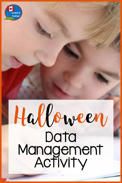This Halloween data management activity is perfect for elementary classrooms! Click through to check it out! #Halloween #datamanagement