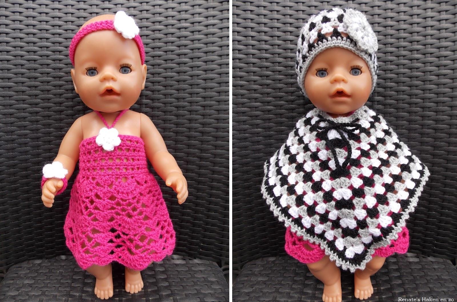 Poppenkleertjes Haken Baby Born Ck32 Aboriginaltourismontario
