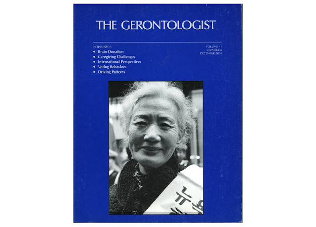 gerontologist cover photo by jeffrey m levine md