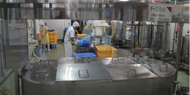 ilustrasi adonan kue pabrik