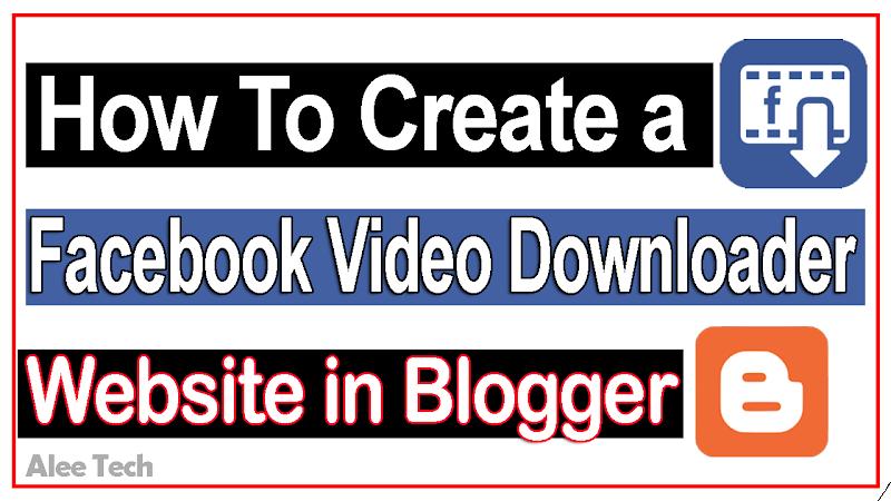 Facebook Video Downloader Script For Blogger