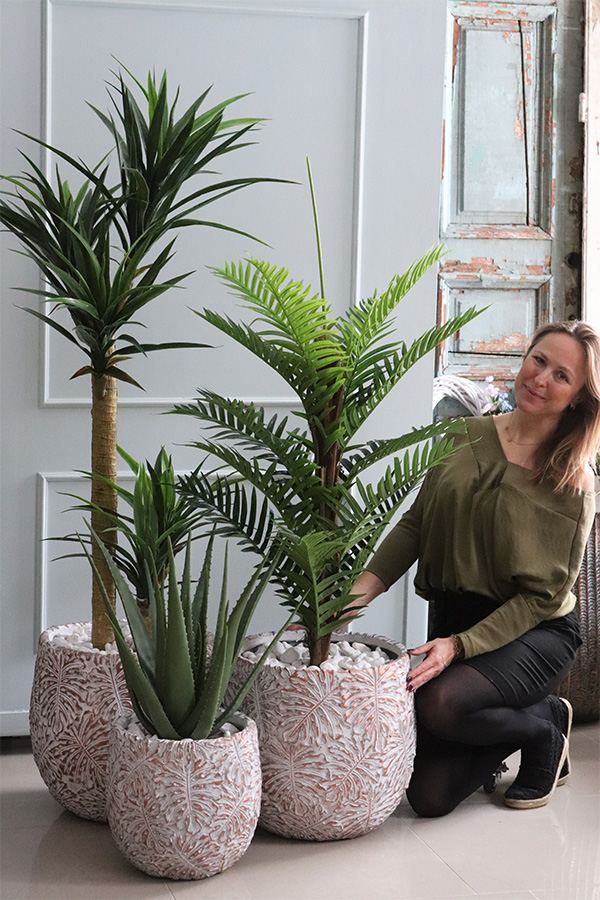 Sztuczne rośliny tam gdzie żywe nie mają szans