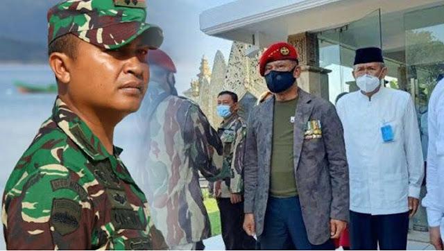"""Dandim Hadang Jenderal Gatot saat Mau Tabur Bunga di TMP Kalibata, """"Kami Hanya Menjalankan Tugas"""""""