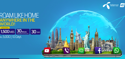 Telenor international call rates - Pacakges Offers